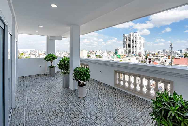 Serviced apartment for rent in District 3 next to Tan Dinh Market