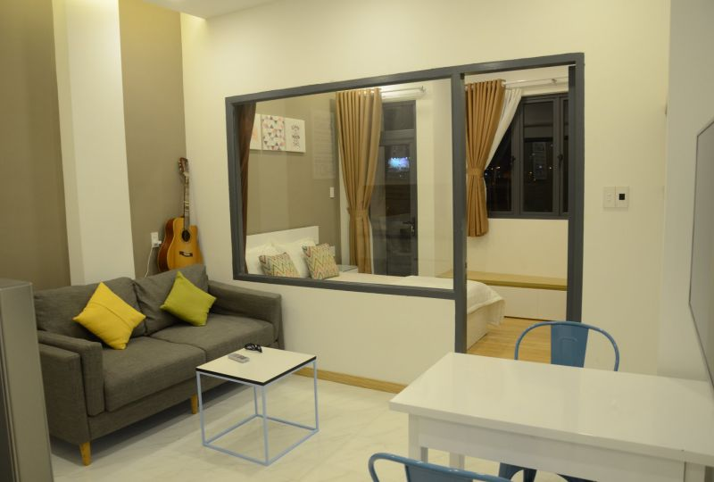 Serviced apartment for rent in District 8 next to District 5 and District 1