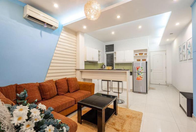 Serviced apartment for rent on Tran Dinh Xu street District 1