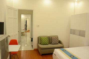 Studio apartment for lease in Saigon city, Duong Ba Trac street, district 8.