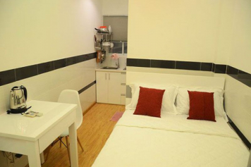 Studio apartment for rent in Ho Chi Minh city, Au Duong Lan street, district 8.