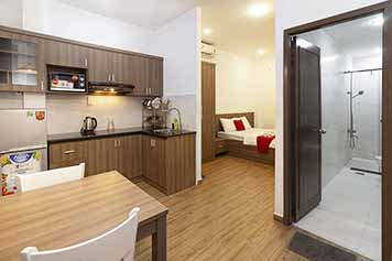 Studio apartment for rent in Tan Dinh ward District 1 Saigon
