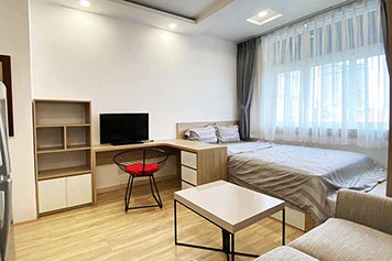 Studio flat leasing in Binh Thanh District Saigon City Center