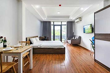 Studio for rent in District Ho Chi Minh City with full of services
