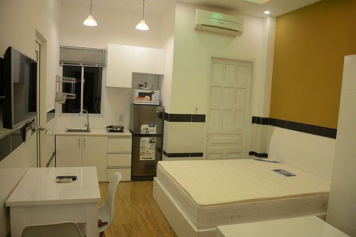 Studio serviced apartment for lease in Ho Chi Minh city, Au Duong Lan street, district 8.