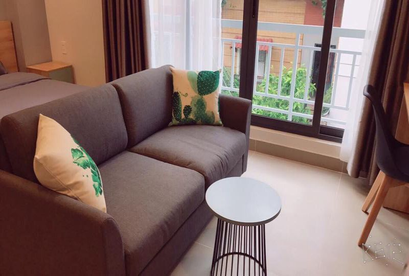 Studio serviced apartment for rent in Phu Nhuan Dist, Saigon City Center