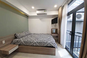 Studio serviced apartment for rent on Tran Ke Xuong St, Binh Thanh District