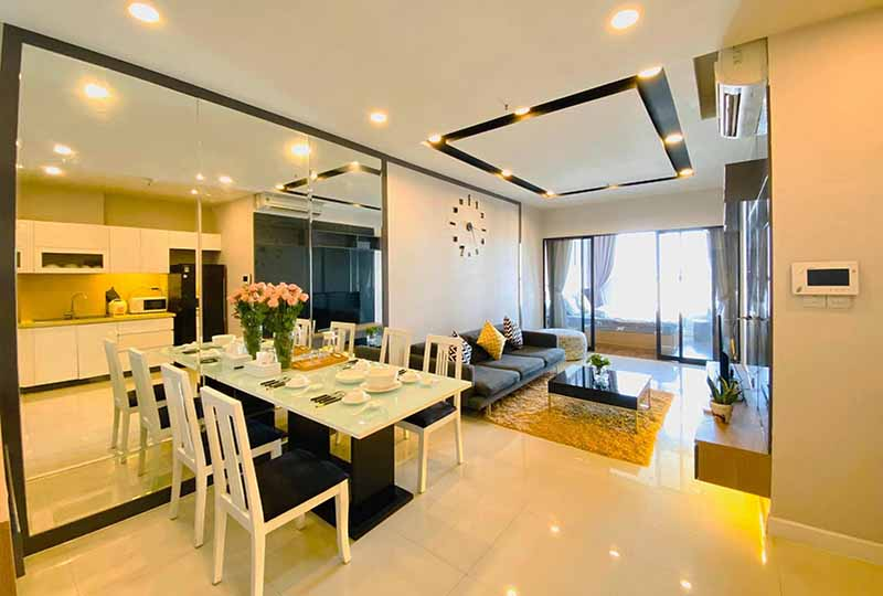 The Prince Residence apartment for rent in Phu Nhuan District, Saigon