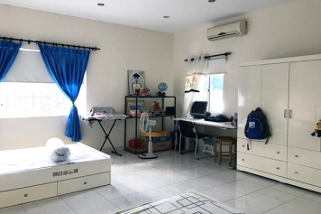 Nice house for rent in Thao Dien area , district 2 , Ho Chi Minh city .