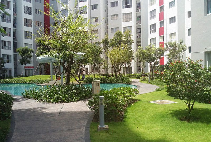 Two bedroom apartment in Celedon City Tan Phu district for rent 9