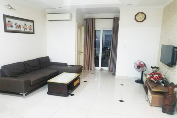 Two bedroom HCMC apartment in Phuc Yen building , Tan Binh district for rent .