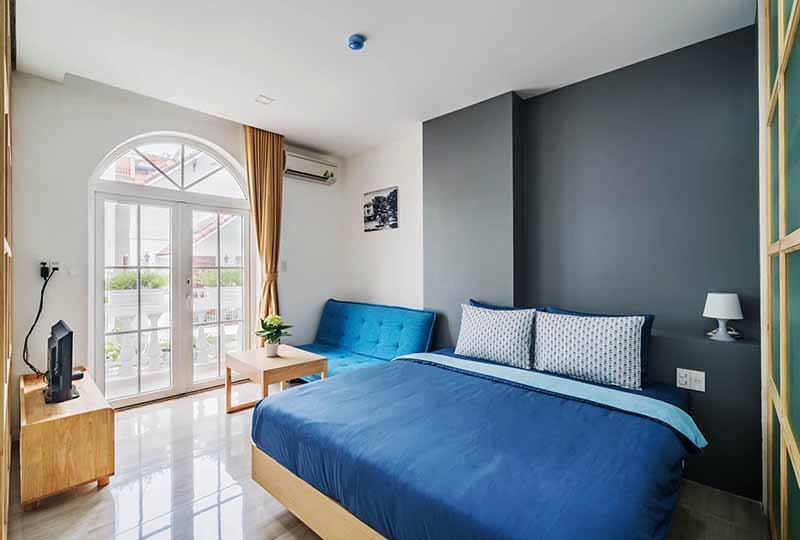 Two bedroom serviced apartment renting in District 3 Vuon Chuoi Street