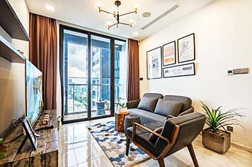 Vinhomes Golden River apartment for rent in District 1 Ho Chi Minh