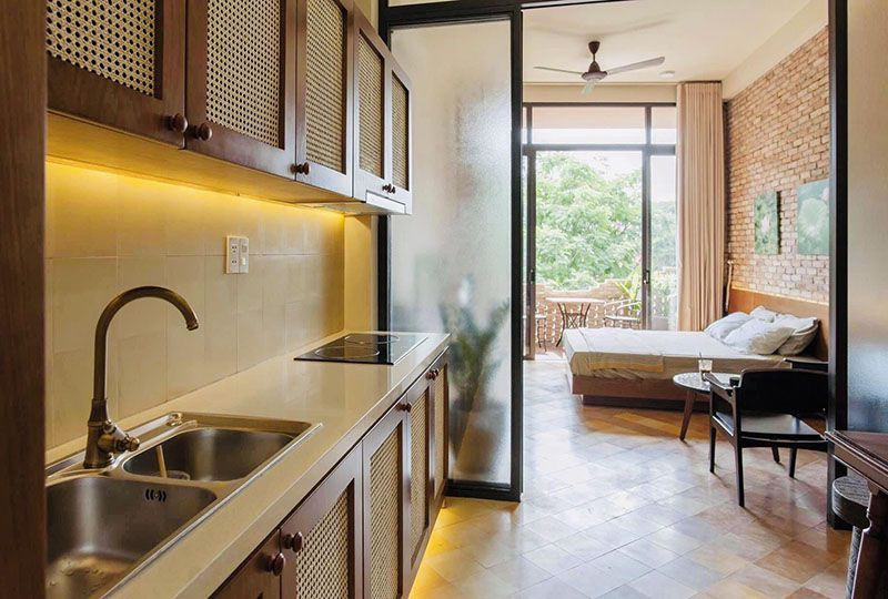 Vintage serviced apartment for lease on Nam Ky Khoi Nghia St, District 3