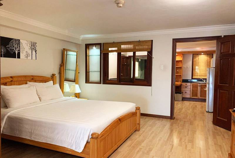 Vintage serviced apartment in district 3 Ho Chi Minh city for rent 0
