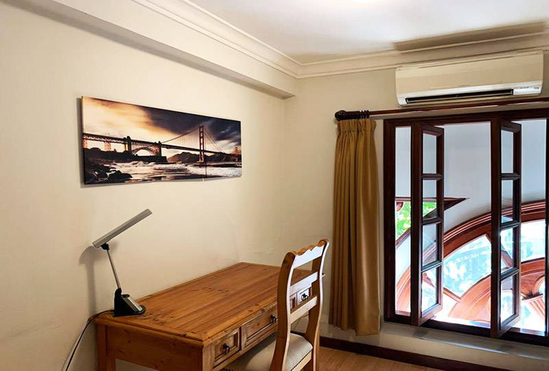 Vintage serviced apartment in district 3 Ho Chi Minh city for rent 6