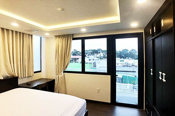Windy serviced apartment for lease in Binh Thanh District HCMC