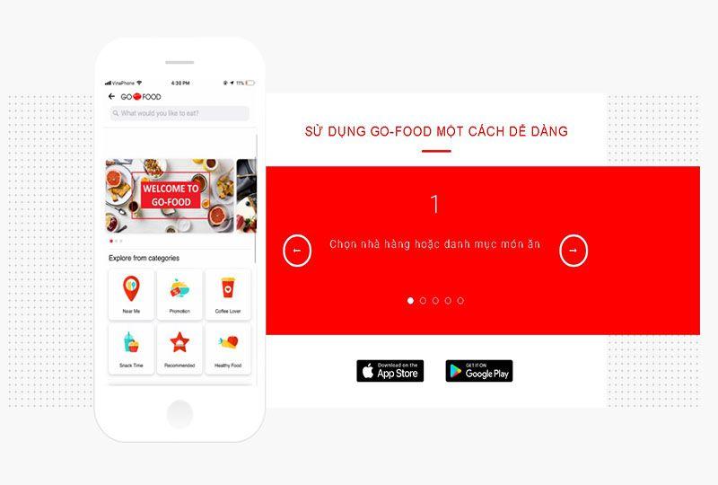 Go-food Application