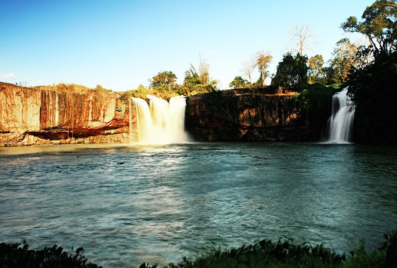 Dray Sap waterfall in Dak Lak