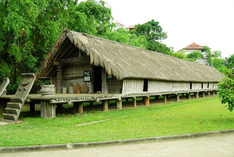 Longhouse in Daklak province