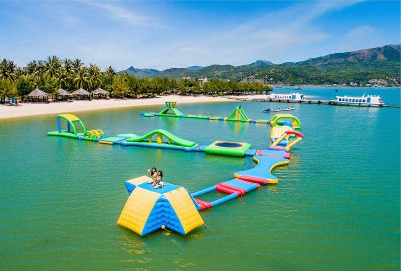 Monkey Island in Nha Phu Bay