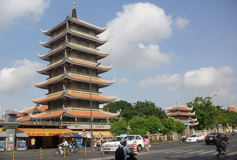 Vinh Nghiem Pagoda on Nam Ki Khoi Nghia street District 3 Saigon