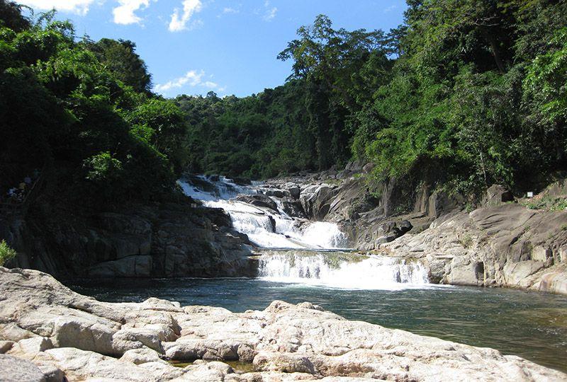 Yang Bay waterfall