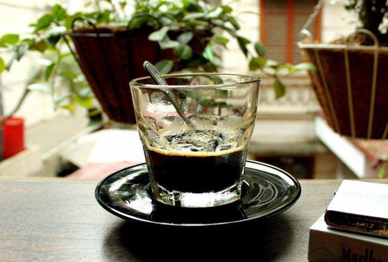 cup of Dak Lak café